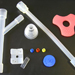 Silicone rubber for medical care